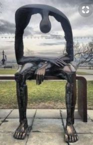 the emptiness statue